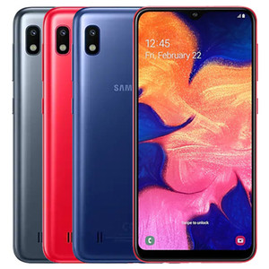 Original Samsung Galaxy A10 Remis à neuf A105F / DS 6,2 pouces Dual SIM Octa noyau 2 Go de RAM 32GB ROM 13MP appareil photo Android Smart Phone gratuit DHL 5pcs