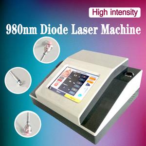 Máquinas de tratamiento de venas varicosas 980 nm láser diodo araña vena belleza máquina 980 nm diodo vaso sanguíneo araña vena remover láser