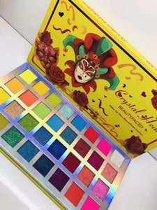 MAKE UP Crystal Heart   Fake Confess BEAUTY FACED FASHION 32 colors eyeshadow palette crystal diamond eye shadow makes your eyes dreamy DHL