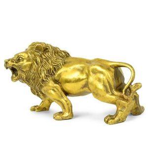 Чистая медь мебель Bafang медного льва украшение поделки завода прямых мужские лев латунь животные Мегатрон