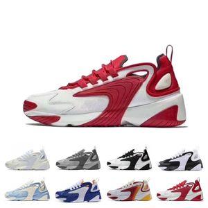 2020 Sale M2k Tekno Zoom 2K ZM 2000 Running Shoes For Men Women Black White Blue Orange Mens Trainers fashion Sneakers