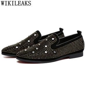fashion men shoes wedding coiffeur dress shoes men formal  italian  loafers elegant chaussure homme ayakkab