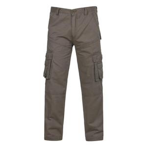 Fashion Men's Pants Casual Outdoors Button Multi-pocket Work Trouser Cargo Long Pants Fitness Men Male long high quality