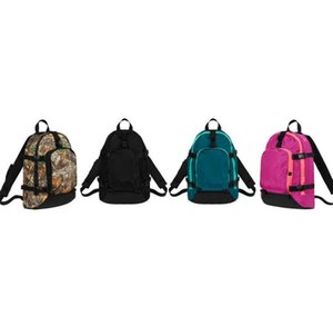 Sup 19FW 47th Backpack Twigs Men and Women Student Schoolbag Hip Hop Supre Sports Backpack Brand Design Unisex Computer Backpack Handbags
