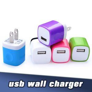 5V 1A porta dupla carregador de parede da UE US Universal Plug Adapter Viagem para Samsung S10 Nota 5 S7 S6 iPXsMax 8P