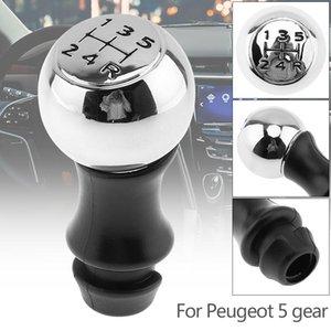 Manuale di acciaio inossidabile di plastica di trasmissione del cambio Pallamano manopola per Peugeot Sega Triumph Senna Elysee Picasso 5 Gear Models Cia _30r