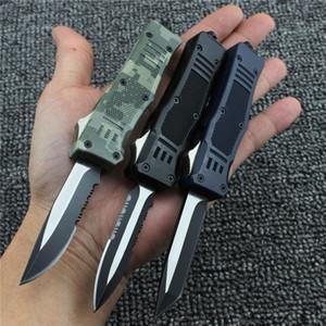 Mini 616 Tactical Couteau Automatique Autodéfense Couteau De Poche Camping Pêche En Plein Air En Aluminium Printemps Couteau Automatique Cadeau De Noël