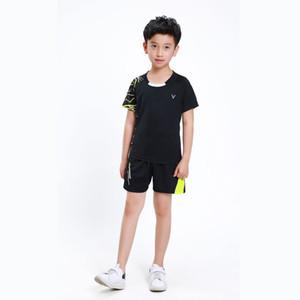 Adsmoney tenis Çocuk için Suit, badminton gömlek Çocuklar, masa tenisi Setleri, ping pong Takım Elbise, çocuk Masa Gömlek şort