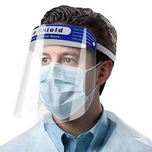 masque de protection du visage anti-buée Isolation Masques complets de protection avec bande élastique protection bandeau éponge anti-boue