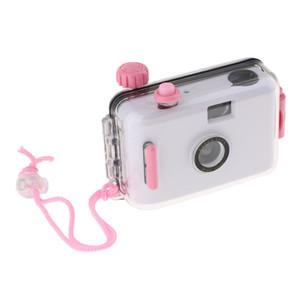 Subacquea impermeabile Lomo Camera Mini Carino pellicola di 35mm W / Custodia bianco