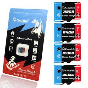 Cloudisk Jeux Ready Cartes mémoire microSD 256 Go 128 Go 64 Go carte 32 Go Micro SD U3 U1 Class10 haute vitesse Garantie 5 ans