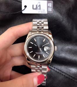 2020 Fecha de fábrica U1 para hombre del reloj para mujer de 36 mm Tamaño Mediano automática de zafiro de cristal mecánico inoxidable de los hombres reloj de pulsera Relojes Mujer