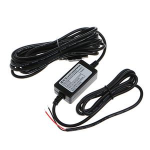 Mikro USB Kablosu ile Araç Şarj Cihazı DC Dönüştürücü Modülü Adaptör 12V 24V için 5V 2A, Düşük Voltaj Koruması Uzunluk 3.5meter