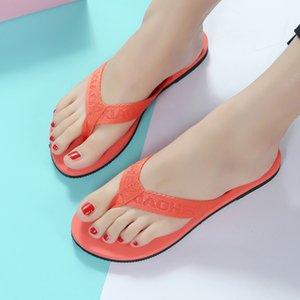 JAYCOSIN 2.019 mujeres chanclas sandalias casuales marea viva de los exteriores anti-derrape zapatillas de casa plana Ldaies zapatillas dropshipping
