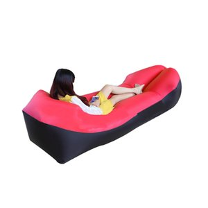 Outdoor air lazy sofa sleeping bag inflatable portable folding laybag Adults Kids Beach air Lounge 2019