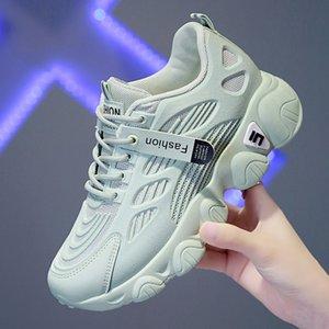 Nuevo Caminar lujo de las mujeres zapatos de señora Wearable zapatos atléticos del deporte naranja para niñas transpirable gimnasia para la hembra