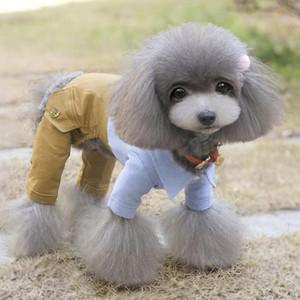 Legal roupas para cachorros Bow Dog Jumpsuit Romper Primavera Pet Wedding revestimento do revestimento Pet Costume Chihuahua roupa para cães pequenos 30