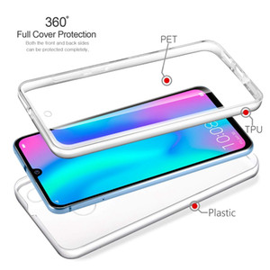 360 Full Body Protective Clear TPU PET PC Case For XiaoMi 5X 6X A1 A2 8 SE Lite 9 F1 CC9 CC9E RedMi 4X 5 Plus 6A S2 Y2 Note 6 Pro 7 7A K20