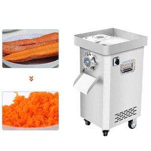 Gewerbliche elektrische Schneidemaschine Automatische Drahtschneider Vertical Slicer Fleischwolf 2200W Zerschneiden Maschine manuelle Küchenmaschine
