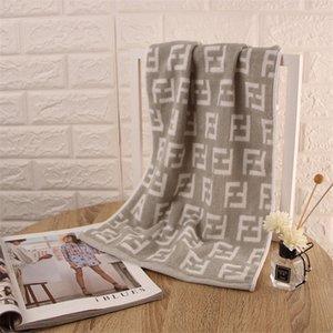2020 Toalha F Carta Cotton Compressed Retângulo Início Toalha enfrenta a mão Bath Cabelo Designer Toalha grátis