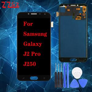 Супер OLED для Samsung Galaxy J250 Lcd J2 Pro J250M J250F Lcd J2 2018 Дисплей сенсорный экран дигитайзер в сборе замена бесплатная доставка