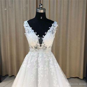 Elie Saab Blue Evening Dresses Plus Size Tulle Appliques Long Formal Dresses Gowns V Neck Lace Up Sleeveless Robe De Soiree