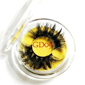 25mm Long 6D Cils De Vison Épais Cils De Luxe De Vison Cils Faux Cils Maquillage Extension De Cils De Vison Naturel Faux Cils 22