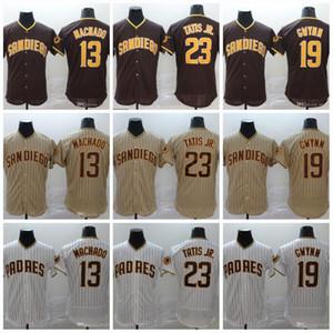 23 Fernando Tatis Jr. 2020 13 Manny Machado 19 Gree Tony Gwynn Baseball Maglia Disponibile Shipping