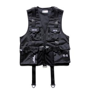 19SS Chaleco impreso de lujo con letras europeas Chaleco de moda Chaleco negro de alta calidad Pareja Mujer Chaqueta de diseñador para hombre HFYYMJ002