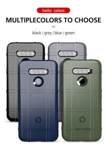 TPU resistente Escudo Armadura casos de teléfono celular para LG K51 Stylo 6 V60 Moto G Fast Cubiertas de encendido Lápiz óptico G8 Plus Lite prueba de golpes