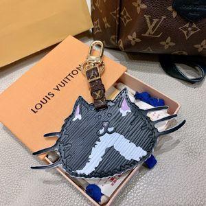 2020 Cat in pelle Portachiavi progettista catena Steeless acciaio Jewelry Key Portachiavi auto Portachiavi Borsa per le donne del regalo degli accessori