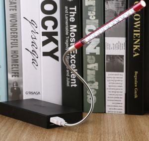 Mini USB Led Işık Bilgisayar Lambası Parlak Esnek Notebook Bilgisayar Bilgisayar Klavye ışık için Lamba Öğrenci İşçi kullanın okuma 10 LED'ler