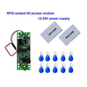 RFID 리프트 삽입 제어 모듈, 인터콤 액세스 9-24V DC 전원 2 개 어머니 카드 10PCS 그들을 쇠고리
