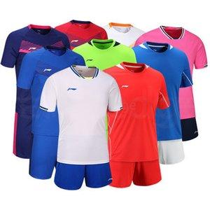 Top Kundenspezifische Fußballjerseys Freies Verschiffen-billig Großhandelsdiskont irgendein Name Jede Zahl anpassen Fußball Shirt Größe S-XXL 749
