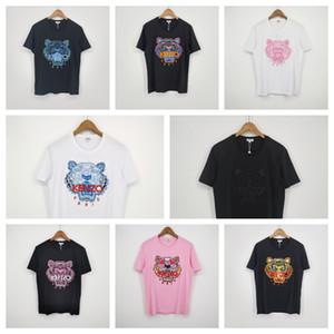 Nouvelle arrivée vente chaude Marque shirt Designer Femmes Hommes Tiger T-shirt Fashion Casual Printemps T-shirts d'été de haute qualité T-shirt ss 20032801W