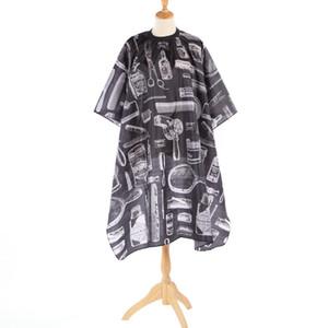 Muster Schneiden Haar Wasserdicht Cape Tuch Salon Barber Kleid Friseur Wrap Kinder Erwachsene Schürze Styling Werkzeug