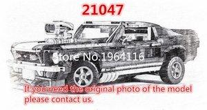 Nouvelle série 21047 Créateur du bâtiment modèle Ford Mustang blocs arment compatibles 10265 voiture style classique Technic Jouets