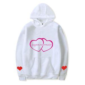 New 2020 Harajuku spring autumn casual Internet celebrity payton moormeier PYTN Print Hooded Women Men Hoodie sweatshirt