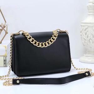 Freies Verschiffen 2020 neue Handtaschen Geldbörsen europäischen und amerikanischen Stil Kette kleine quadratische Tasche PU-Schulterbeutel 5 Farben