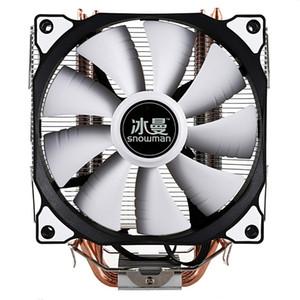 SNOWMAN CPU Cooler Master 5 Direkter Kontakt Heatpipes einfrieren Turm Kühlsystem CPU-Lüfter mit PWM