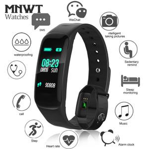 """Smart Watch 0.96 """"OLED Reloj de pulsera con pantalla táctil Smart Fitness Sleep Monitor Sofe Silicone Wristband Dispositivos Bluetooth portátiles"""