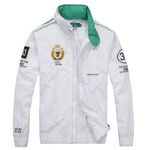 los hombres de diseño de moda que compite con la chaqueta de vuelo del piloto chaqueta rompevientos ropa exterior abrigos para hombre Casual cimas más el tamaño M-2XL