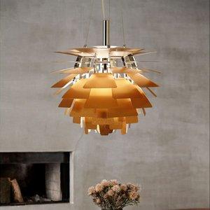 PH5 nórdicos ferro alumínio Pingente luzes LED e27 Pinha luminária para o quarto Dinning Room Foyer luminárias