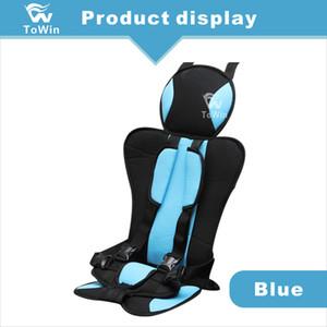 Asiento de coche de alta calidad de la seguridad del bebé del estilo del diseño protector durable del cojín simple regalo confortable Almohada para niños de los niños Protección Riding