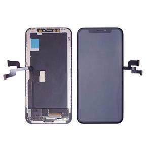 Dokunmatik Ekran Digitizer Meclisi LCD Dokunmatik Ekran Display iPhone X / 10 Resmi Kalite OLED Kalite LCD Modülü İçin