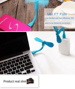 2020 USB Portable Small Fan Handheld usb Mini Pocket Electric Fan Mobile Power Portable Fan DHL Free Shipping