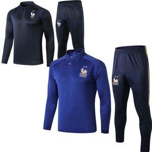 2 STAR Maillot de Foot survetement maillot de football tracksuit 201 2020 fr MBAPPE POGBA GRIEZMANN soccer jacket training suit