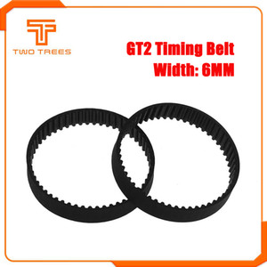 Computer & Office GT2 Closed Loop Timing Belt Rubber 2GT 6mm 110 160 200 280 400 610 690 852 1220 mm Synchronous