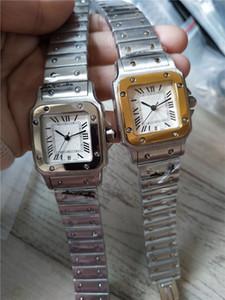 Новая мода высокое качество человек женщина Дата из нержавеющей стали мужские женские кварцевые часы стиль CA03-2