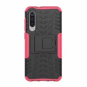 Para Xiaomi Mi 9 SE caso pegatina resistente Combo híbrido armadura soporte funda protectora de impacto para Xiaomi Mi 9 SE